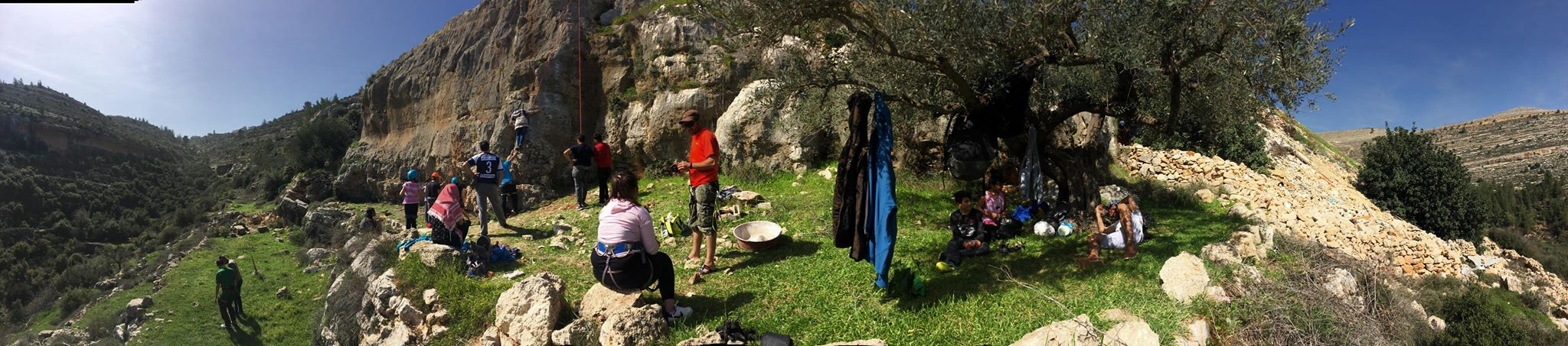 Il progetto climbing in West Bank prosegue!